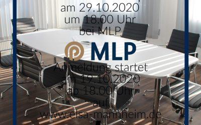 Überzeugend auftreten – Präsenz – Workshop mit MLP am 29.10.20