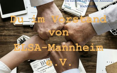 Du im Vorstand von ELSA-Mannheim e. V.